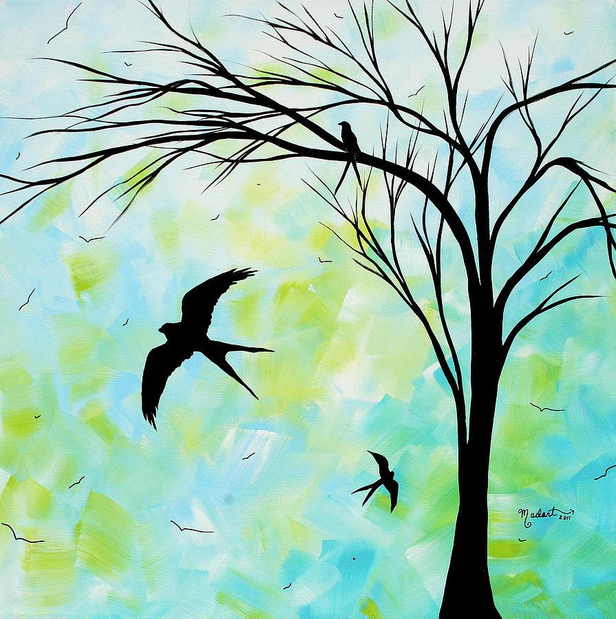 tree birds freedom